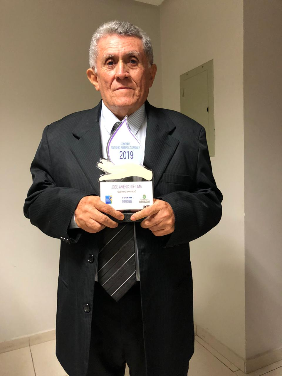 Entrega da honrosa Comenda Antônio Zaranza do Fórum Cearense dos Comitês de Bacias Hidrográficas